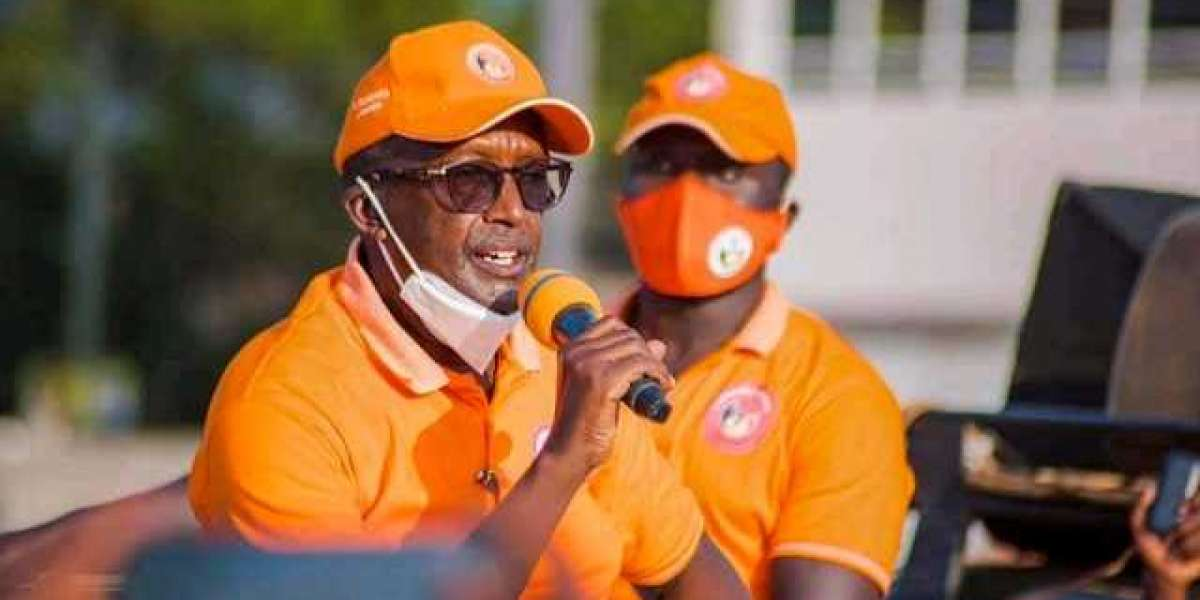 Gen. #Tumukunde on campaign trail. He is now seeking to protect his votes <br>? #National #elections – January 14, 2021